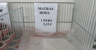 Matrassenhoes 1 persoon 5.15€
